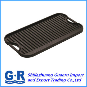 Non-Stick Cast Iron Griddle for Picnic pictures & photos