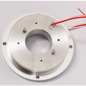 Internal Diameter 30mm Bore Slip Ring Flat Platter with 2 Circuits