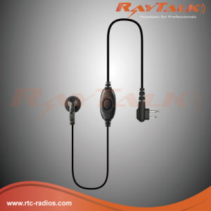 1-Wire Earpiece with Microphone for Two Way Radio Dp1400 pictures & photos