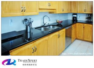 Black Granite Adornment Kitchen Countertop Whole Machine Panel