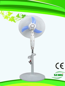 16 Inches 12V DC Pure White Stand Fan pictures & photos