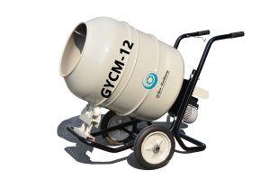 Hand Push Type Mini Electric Power Mobile Concrete Mixer Gycm-12 pictures & photos
