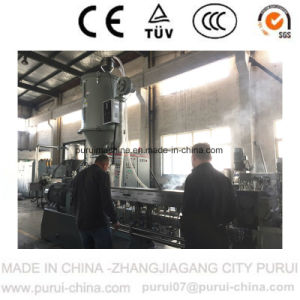 Plastic Extruder for PC Flakes Compounding with Twin Screw pictures & photos