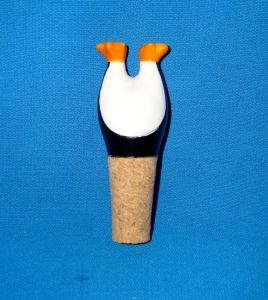 Resin Penguin with Bottle Stoppers pictures & photos