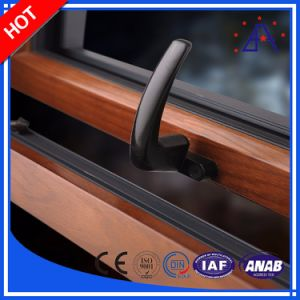 High Quality Aluminum/Aluminium Windows with Wooden Grain Color pictures & photos