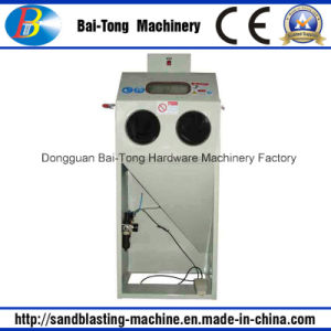 Manual Dry Sandblasting Cabinet for Mini Parts pictures & photos