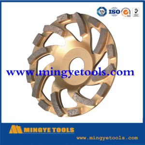Sintered Cup Segment Polished Stone Concrete Diamond Grinding Wheel pictures & photos