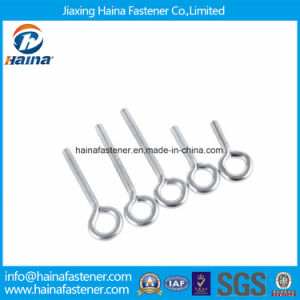 Grade 4.8/8.8/10.9 Carbon Steel Zinc Plated Weld Eye Hook Screw Eye Screw pictures & photos