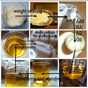 Bodybuilding Anabolic Steroid Powder Trenbolone Acetate for Muscle Growth pictures & photos