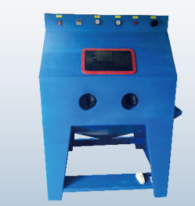 stainless steel wet blasting machine wet sand blast cabinet water equipment for sale