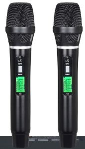 Ls-601 Stage Microphone Dual Channels Pilot Tone Digital Diversity UHF Wireless Microphone pictures & photos
