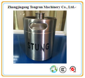 2L Popular Mini Stainless Steel Material Beer Keg for Sale