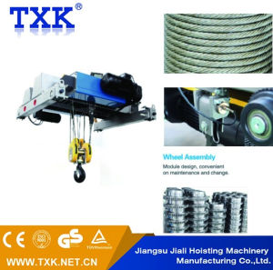 3.2ton Double Girder Wire Rope Hoist pictures & photos