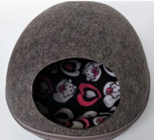 Detachable Egg Design Felt Material Puppy Dog and Cat House pictures & photos