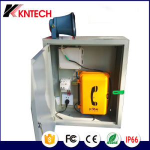 Wall Mounted Railway Emergency Telephone Industrial Telephone with Keypad pictures & photos