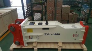 Slience Type Hydraulic Breaker for 10-15tons Excavator pictures & photos
