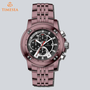 Luxury Miyota OS60 Chronograph Watch Stainless Steel Wrist Watch for Men72624 pictures & photos