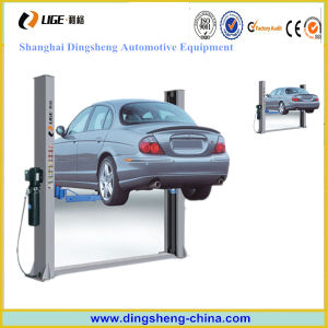 Cheap 2 Post Car Lift Maunal and Electric Lock Release for Sale
