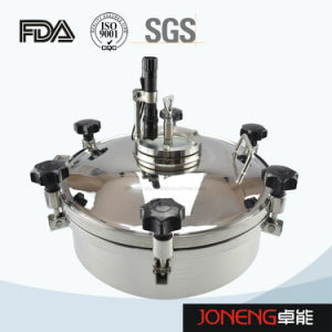 Stainless Steel Sanitary Round Type Tank Manhole Cover (JN-ML1002) pictures & photos