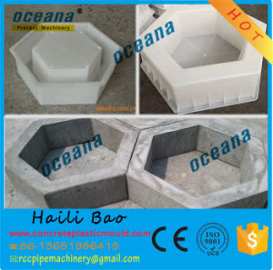 Hexagonal Concrete Hollow Brick Plastic Paving Moulds for Paving Stone pictures & photos