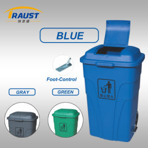 120L Wheel Outdoor Plastic Dustbin Stand pictures & photos