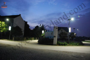 6m 25W LED Solar Street Light IP68 for Village Project pictures & photos