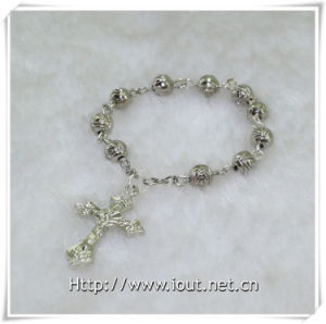 Rose Beads Finger Rosary and Cross Finger Rosary (IO-CE061) pictures & photos