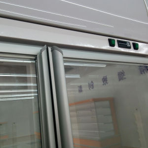 Plug-in White Color Convenience Store Glass Door Beverage Cooler pictures & photos