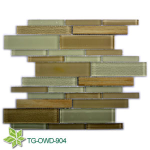 Strip Glass Tile Mosaic/ Mosaic Tile (TG-OWD-904) pictures & photos