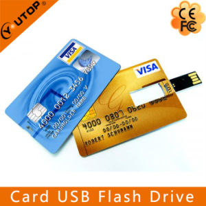 Colorful Printing Promotional Gift Credit Card Flash Drive USB Stick (YT-3101) pictures & photos