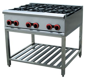 Gas Range with Six Burner (GH-6A) pictures & photos