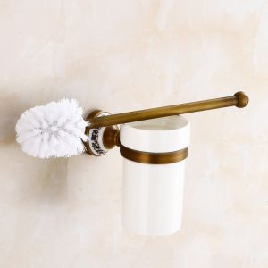 FLG Bathroom Brass Toilet Brush Holder Wall Mounted Antique pictures & photos