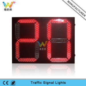 Two Digitals Dual Red Green LED Traffic Countdown Timer pictures & photos