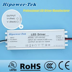 90-135VAC 30W Constant Current Traic Dimming Power Supply LED Driver pictures & photos