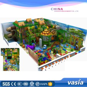 Kids Soft Play Toy Indoor Playground, Fun Center Playground pictures & photos
