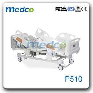 Ce& ISO Adjustable Remote Control Bed, Electric Wooden Hospital Nursing Bed pictures & photos