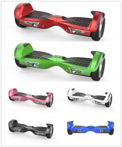 Smart Two Wheel Self Balancing Electric Scooter with Wireless Bluetooth Speaker and LED Lights pictures & photos