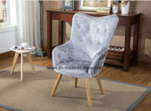 Factory Price Natural Clear Lacquer High Seat Leisure Sofa Chair for Furniture (LL-BC077) pictures & photos