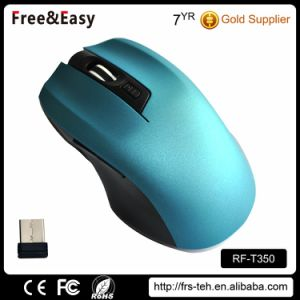 RF 2.4G 6 Buttons Dpi 1600 Portable Wireless USB Mouse pictures & photos