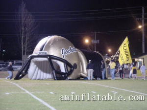 Balloon Type Inflatable Football Tunnel Inflatable Helmet Tunnel pictures & photos