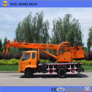 Small Truck Crane for Construction in Bangladesh pictures & photos
