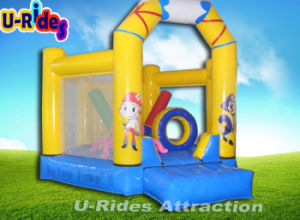 Commercial inflatable bouncer inflatable moonwalk inflatable trampoline for kids pictures & photos