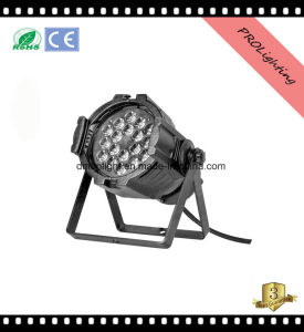 Low Noise Lightweight LED PAR Can Lights 18X3w RGB 6-in-1 for Band Shows / Live DJ / Clubs pictures & photos