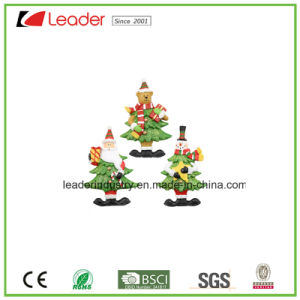 High Quality Resin 3D Fridge Magnet with Santa Figurine for Souvenir Collection pictures & photos