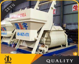 Js1500 Leading Technology Twin-Shaft Concrete Mixer pictures & photos