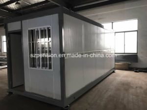 Multi-Floor Prefabricated/Prefab Mobile House for Constraction Area pictures & photos