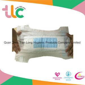 2017 Diaper Distributor Baby Care Disposable Nappies with Magic Tapes