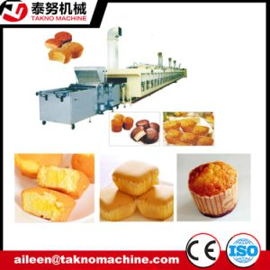 Gas Tunnel Oven Cupcake Baking Production Line pictures & photos