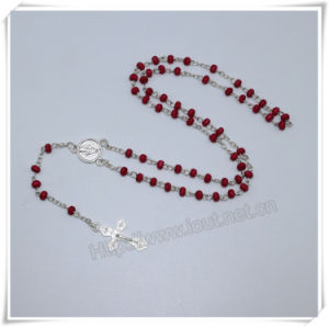 Catholic Small Wooden Beads Rosaries with Cross and Packing Box (IO-cr392) pictures & photos