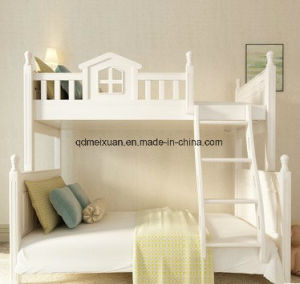 Solid Wood Children Bunk Bed Fluctuation Bed Contracted and Contemporary High and Low Double Bed and Bed (M-X3796) pictures & photos